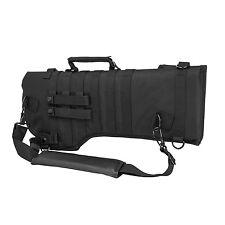 NcStar CVRSCB2919B BLACK Rifle/Carbine Over Shoulder Modular MOLLE Gun Scabbard