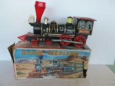 Modern Toys Tin GIANT Western Special Train Battery Operated Japan Box 3635 20""