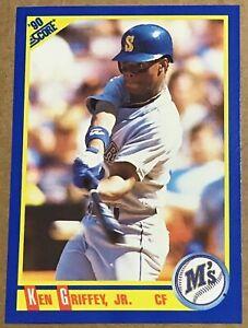 1990 KEN GRIFFEY JR SCORE CARD #560 SEATTLE MARINERS
