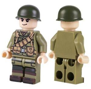 ⭐Lego WW2 Bataille de Normandie Soldats Americain Militaire Armée Military  ⭐