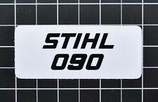 """Vinyl Sticker for Stihl/Farmertec 090 Shroud Plate """"Full Overlay"""""""