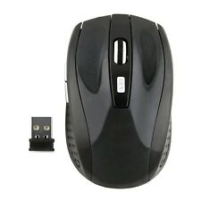 1 x Wireless Mouse USB Receiver Black 8-15mA@1.5V/3V 2.4 GHz Wireless Mouse
