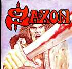 SAXON s/t LP Used