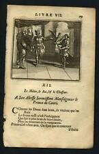 LA FONTAINE Le Milan, le Roi et le Chasseur 1703