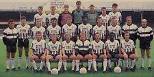 NOTTS COUNTY FOOTBALL TEAM PHOTO 1987-88 SEASON