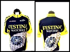 Maglia ciclismo biemme shirt trikot jersey festina watches vintage made In Italy