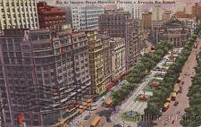 * BRAZIL - Rio de Janeiro - Praca Marechal Floriano e Avenida Rio Branco 1956