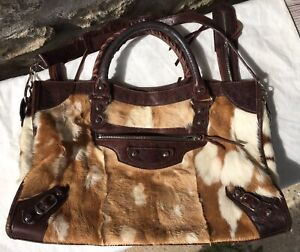 Sac Balenciaga Collector Sublime et Rare BALENCIAGA City Bag