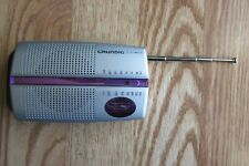 Grundig City 31Portable Radio FM/MW Tuner) Chrome