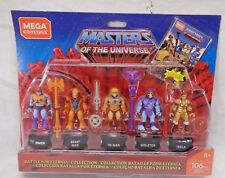 Mega Construx Masters Of The Universe 5 Pack - He-Man Skeletor Teela Faker Beast