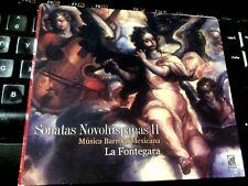 Sonatas Novohispanas 2: Musica Barroca Mexicana Por La Fontegara (CD 2005 Urtext