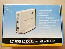 """3.5"""" USB 2.0 IDE External Enclosure Brand New Never Used"""