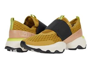 Sorel KINETIC IMPACT STRAP Womens Dioxide Gold (Yellow) 236 Mesh Sneakers Shoes