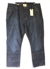 Alexander Julian Jeans Mens Size 46X32 Straight Fit Arlo Wash Blue Jeans New