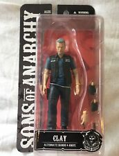 "SONS OF ANARCHY, ""Clay"" 6 Inch Figure, Removable hands+Knife, New in Box!"