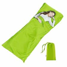 SCM sleeping bag green 90 x 220cm / travel sheet