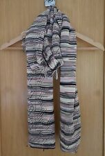 Authentic Missoni Knit Scarf with Fringes