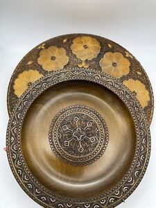 Russian Wooden Decorative Wall Plates