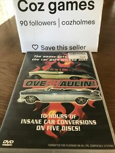 Overhaulin DVD Box Set 5 DISC SET Region 4 The Owners Car Gets Tricked Out