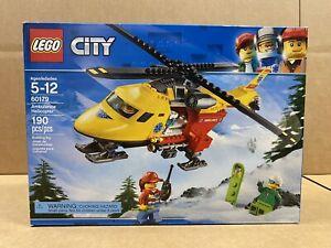 LEGO City - 60179 - Ambulance Helicopter - NEW - SEALED - FREE SHIPPING