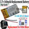 New Replacement 160mAh 0.59Wh Battery for Fitbit Blaze Smart Fitness Watch