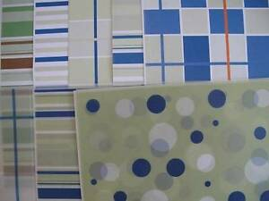 "44 Sheets of Approx 12""x12"" Mixed Green Spot/Stripe Backing Paper & Vellum AM402"