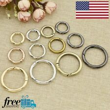 Snap Clip Trigger Spring Gate O Ring Keyring Buckle Bag Diy Decor Accessory