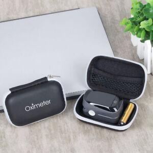 Portable Finger Pulse Oximeter Protective Case Storage Bag Hard Holder Tool