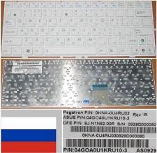 QWERTY KEYBOARD RUSSIAN ASUS EEEPC EEE PC 1000HE 9J.N1N82.00R 0KNA-0U4RU03 White