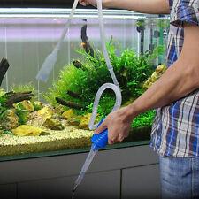 1.7M Aquarium Fish Tank Vacuum Gravel Cleaner Water Syphon Siphon Pump Filter 1x