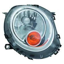 Faro delantero Derecho MINI R56 06-> flecha amarillo TYC H4 ciclomotor reg el