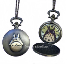 Collana Orologio Il Mio Vicino Totoro My Neighbor Totoro Anime Idea Regalo Japan