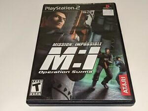 MISSION: IMPOSSIBLE Operation Surma Sony Playstation 2 PS2 Video Game COMPLETE