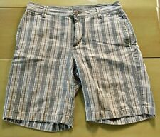 North Face Plaid Check Shorts 34 Waist Excellent Used Condition