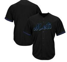 Majestic Big & Tall New York Mets Baseball Jersey New Mens Sizes