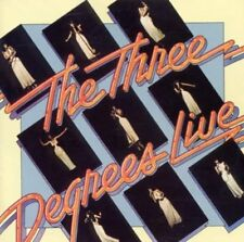 Three Degrees, the - Live CD NEU OVP