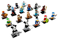 LEGO Disney Minifigures Series 2 71024 - Complete Set of 18 SEALED PACKETS!