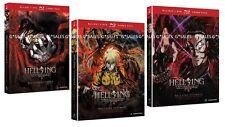 Hellsing Ultimate Complete Anime TV Series 1 2 3 Volumes 1-10 NEW BLU-RAY & DVD