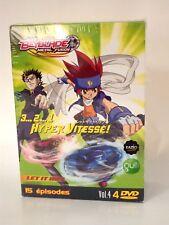 Dvd manga Beyblade metal fusion Hyper vitesse Vol.4 15 épisodes