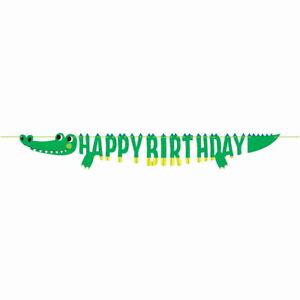 Alligator Crocodile Birthday Party Supplies Tableware, Balloons & Decorations