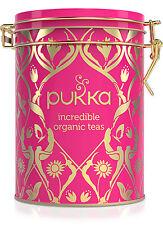 Bio Selección de té de hierbas En El Caja para joyas, 60 G de Pukka Herbs