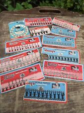 Selection of Vintage Hooks & Bar Loops Snap Fasteners All still on Display cards