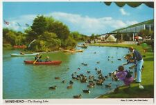 Butlins Minehead, The Boating Lake, John Hinde 3M25 Postcard B859