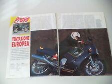 - PROVA MOTOCICLISMO 1992 MOTO TRIUMPH TROPHY 1200