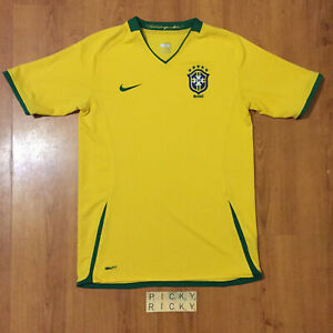 Brazil Nike Fit Dry Yellow Football Shirt - Fit 13-15 yrs/XL