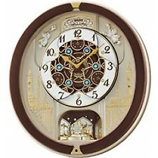 Seiko Melody in Motion Clock 18 Melodies QXM291B