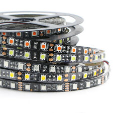 RGB LED Strip Light PCB Black 5050 RGB Flexible Waterproof tape Lamp Car Lights