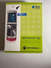 Motorazr V3a Flip Cell phone, (Cdma) by Alltel (Grey) Retro! Verizon