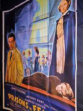 PRISON DE FEMMES danielle delorme   affiche cinema 1958