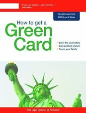 How to Get a Green Card, Lewis, Loida Nicolas, Bray, Ilona, Good Condition, Book